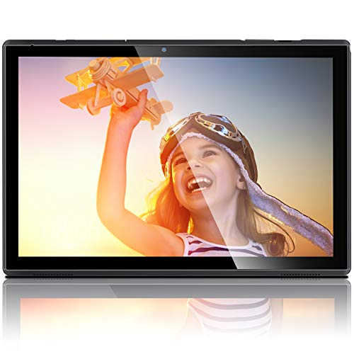 Tablets with Case Android Tablet 10 Inch 3GB RAM 32GB Storage, 1.6GHz Quad-Core Processor, Dual Speakers WiFi Tablets…