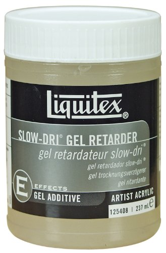 Heavy Gel - Liquitex Professional Slow-Dri Gel Retarder Effects Medium, 8-oz