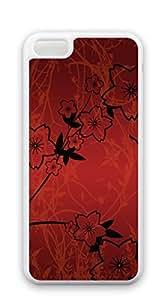 TUTU158600 Design Hard Customized case Of case for iphone 5c - Yellow flowers
