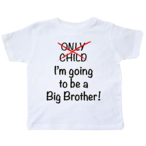 inktastic - I'm Going to be a Big Brother! Toddler T-Shirt 5/6 White 18b1f