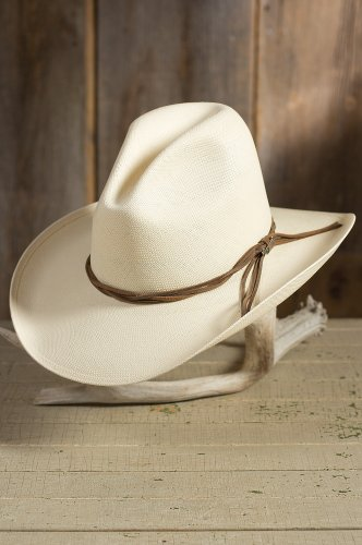 Stetson Gus Straw Cowboy hat (7 1/8)
