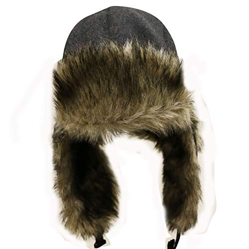 2cff50cf296 City Hunter W300 Premium Wool Solid Trapper Hats - Multi Colors ...