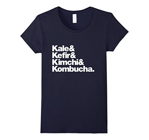 "Women's Vegan ""Kale & Kefir & Kimchi & Kombucha"" T-Shirt ..."