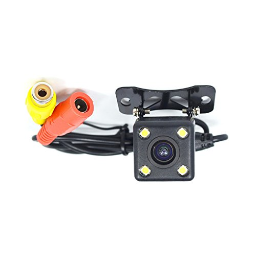 KASIONVI Car Rear View camera Vehicle backup camera with 4 LED light Distance Scale Line (Black) Review
