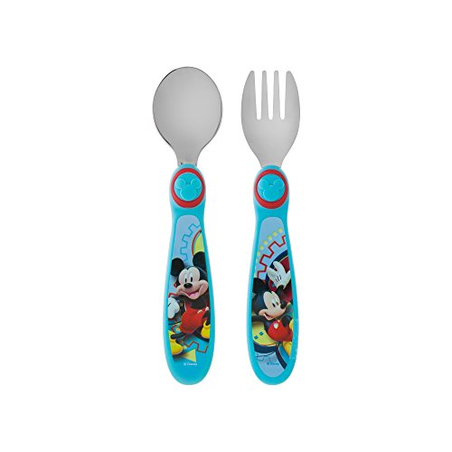 First Years Disney Mickey Flatware