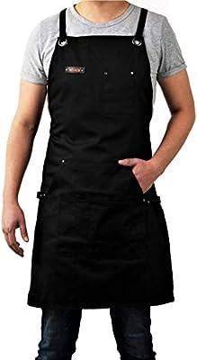 Vicenzo Delantal Hombre Delantal Cocina Moderno Delantal Para