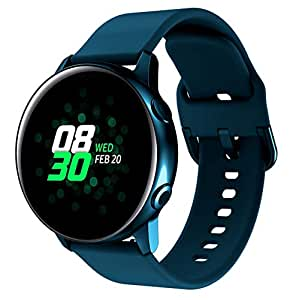 TOPsic - Correa para reloj Galaxy Active 2, 40 mm, 44 mm, 20 mm, pulsera de silicona para Galaxy Watch Active 40 mm, Galaxy Watch Active 2, Galaxy ...