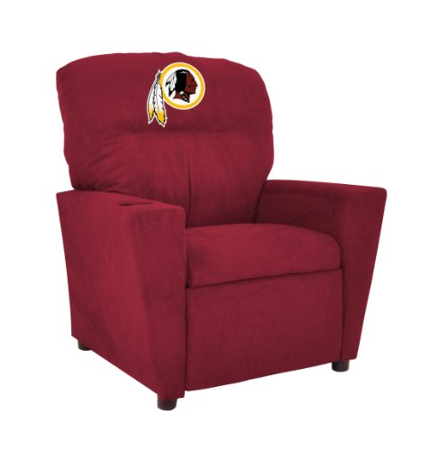 (Imperial Officially Licensed NFL Furniture: Youth Microfiber Recliner, Washington Redskins)