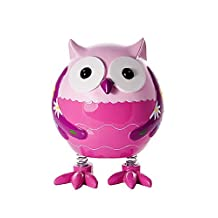 Kids Pink Owl Money Bank Piggy Bank Gift for Girls