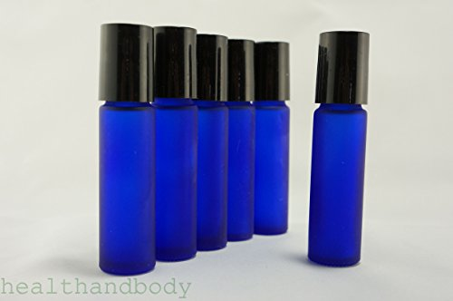 Generic Aromatherapy Bottles Frosted Cobalt product image