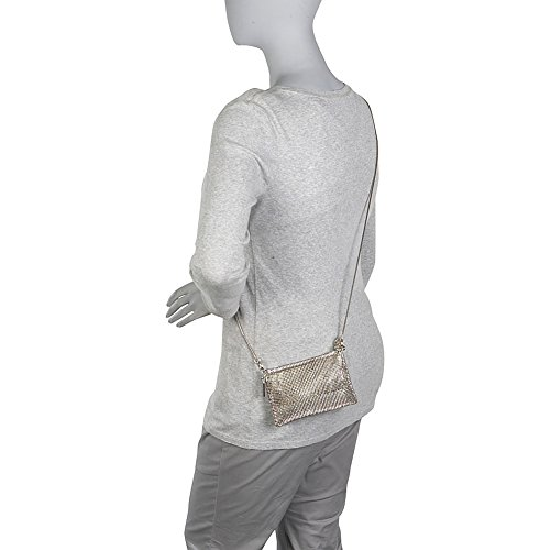 Mesh Bag Whiting Pewter Pyramid amp; Body Cross Davis Women's wxOqT7OZB