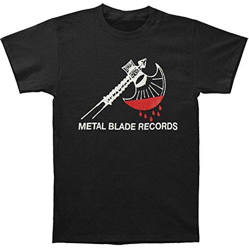 metal blade records t shirt - 6