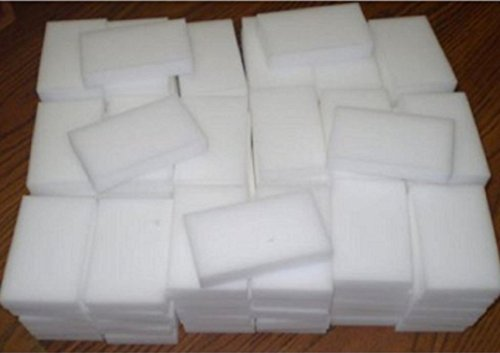 USA Premium Store 100 BULK PAK Cleaning Magic Sponge Eraser Melamine Cleaner multi-functional foam (Magic Pak)