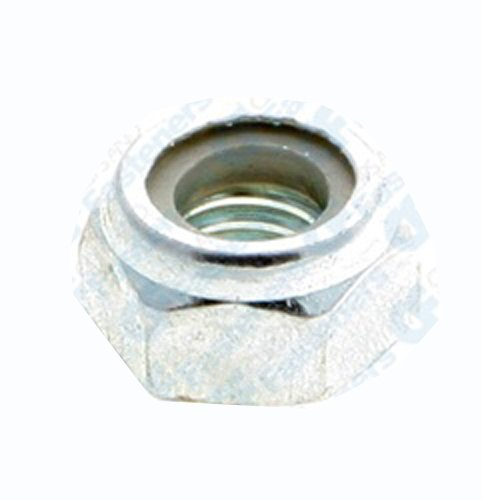 - 100 6mm-1.0 Metric Nylon Insert Lock Nuts DIN 985