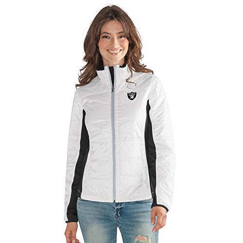 GIII For Her NFL Oakland Raiders Women's Grand Slam Full Zip Jacket, XX-Large, (Oakland Raiders Womens Jackets)