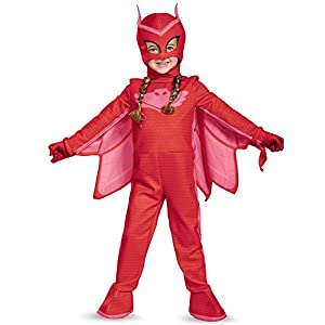 Disguise Owlette Deluxe Toddler PJ Masks Jumpsuit with Attached Boot Covers - 41W4kKYYCpL - Disguise Owlette Deluxe Toddler PJ Masks Jumpsuit with Attached Boot Covers