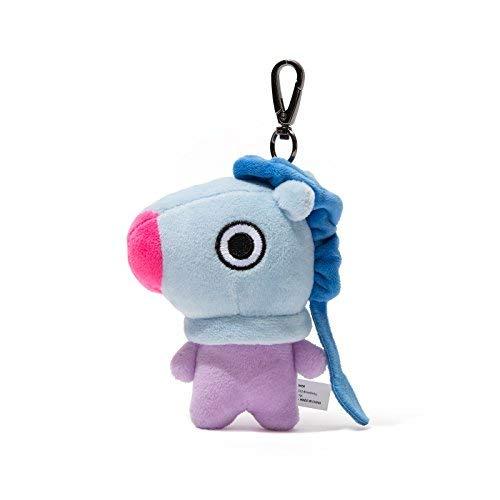 LINE FRIENDS BT21 Official Merchandise MANG Character Doll Keychain Ring Cute Handbag Accessories