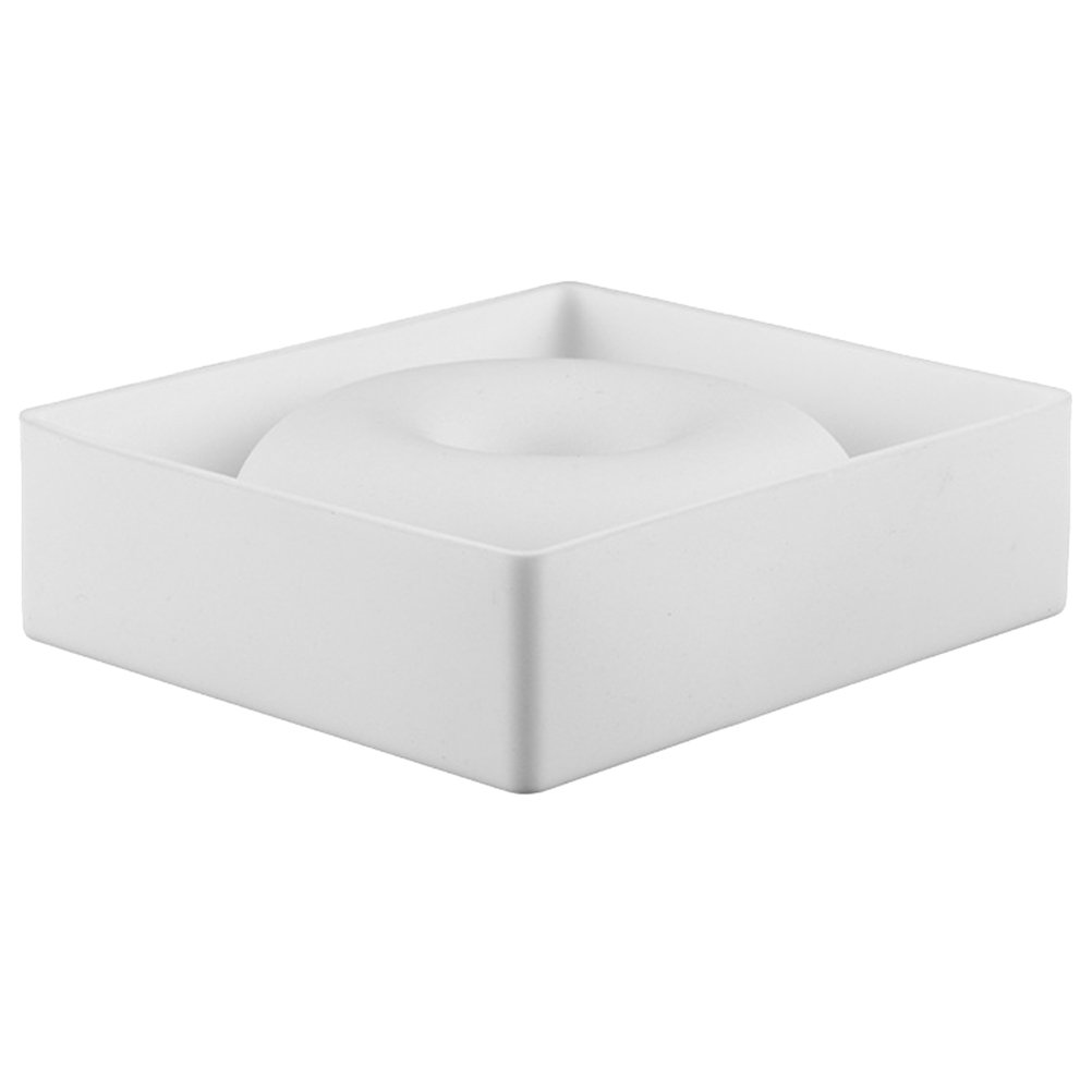 OUNONA Silicone Donuts Mold,Nonstick Donut Pans Donut Baking Pan For Oven/Microwave/Dishwasher(White) by OUNONA (Image #4)