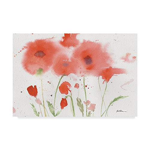- Five Red Poppies by Sheila Golden, 22x32-Inch