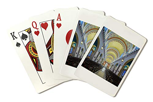 Omaha, Nebraska - St. Cecilia Cathedral - Photography A-98390 98390 (Playing Card Deck - 52 Card Poker Size with Jokers)