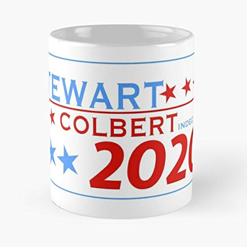Jon Stewart Stephen Colbert 11 Oz Coffee Mugs Best Gift For Father Day (Contact The Daily Show With Jon Stewart)