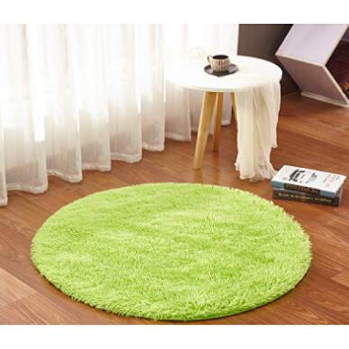 Solid Round Carpet Computer Chair Carpets Dome of Mattress Floor mats Fur Area Rug Living Room Kids Room
