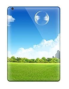 Premium [AnC6365zWaM]green City Custom Cases For Ipad Air- Eco-friendly Packaging