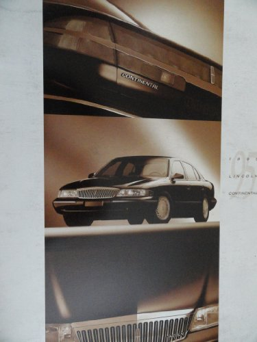 Original 1995 Lincoln Continental Sales Brochure