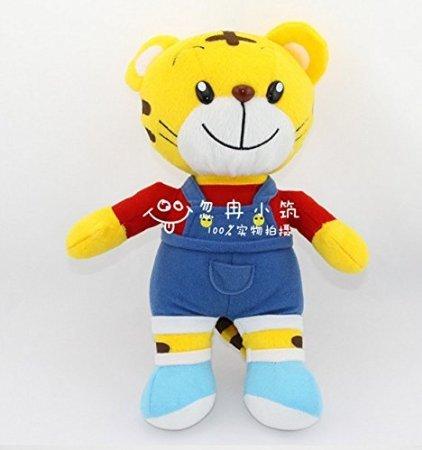 FatflyShop - Qiaohu Tiger Red Color Soft Stuffed Animals Plush Doll Toys Birthday Gift for Kids 28cm