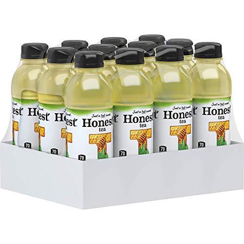 Honest Tea Organic Fair Trade Honey Green Gluten Free, 16.9 Fl. Oz, 21 Pack (21 Pack)