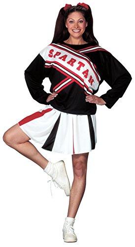 SNL Spartan Cheerleader Costume - One Size - Dress Size 4-14 (2)