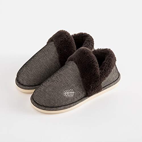 cotone fondo Indoor Velluto Yixin Coppia spesso al Tenere di 43 Scarpe Pantofole casa 44 Cn43 caldo Inclusive Taglia fit42 All Plus uomo antiscivolo OFw5PqX