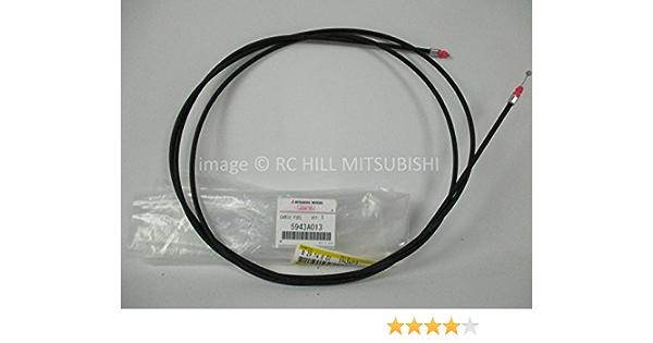 Genuine Mitsubishi Lancer /& Evo Evolution 5943A013 fuel door OEM RELEASE CABLE