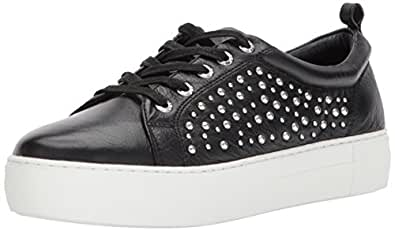 J Slides Women's Ambrosia Fashion Sneaker, Black, 7 M US