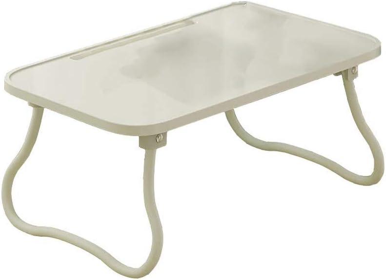 JJDNZ ラップトップテーブル、朝食ベッド、ポータブルミニピクニックデスク、カウチフロア用ノートスタンド読み取りホルダー、折りたたみ式インナー収納 (Color : E)