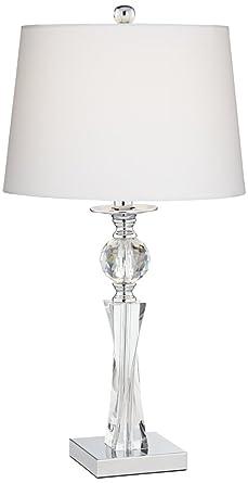 Julian crystal twist column table lamp amazon julian crystal twist column table lamp aloadofball Images