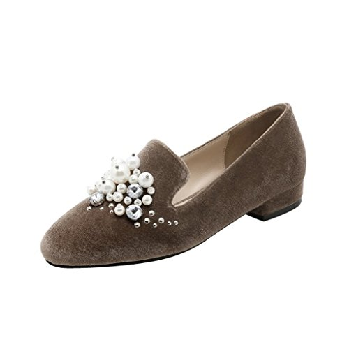 Jushee - Zapatillas Bajas mujer marrón
