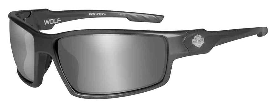 menu0027s wolf bar u0026 shield sunglasses gray lens u0026 frames hawol02