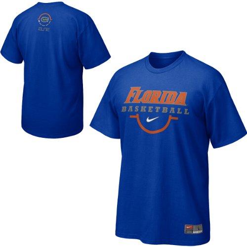 Nike Basketball Gators Florida (NIKE Florida Gators Royal Blue Basketball Practice T-shirt)