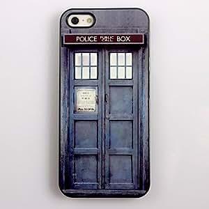 LZX Police Box Design Aluminum Hard Case for iPhone 4/4S