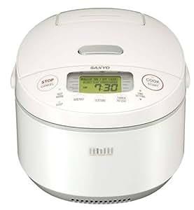 Amazon.com: Sanyo ECJ-JG10W 5-1/2-Cup Rice Cooker with