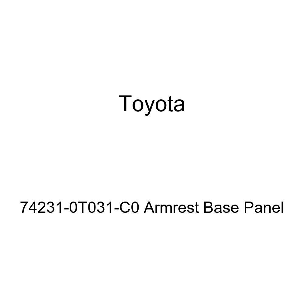 TOYOTA Genuine 74231-0T031-C0 Armrest Base Panel