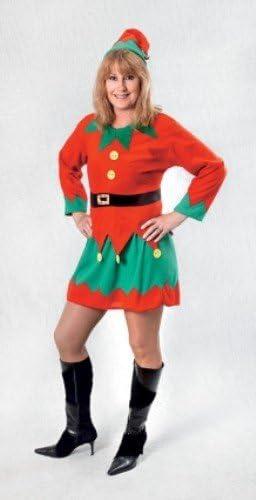 Santa - Disfraz de duende para mujer, talla única (AC516-KIT ...