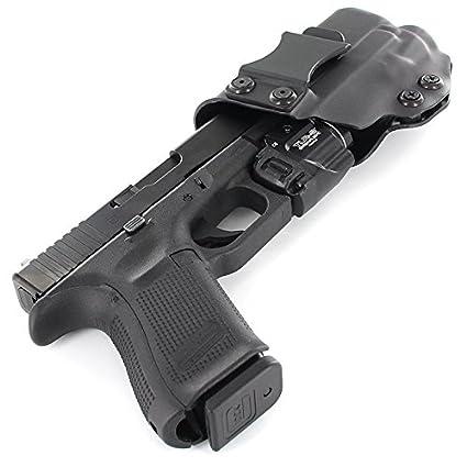 Amazon com : IWB Holster - TLR-8 - Black (Left-Hand, Glock