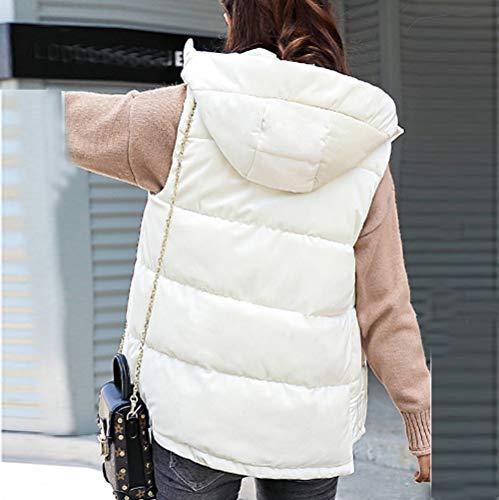 Abrigo Blanco Ropa Sport Ashop Casual Moda Chaquetas Mujer Coat De Larga Mujer Talla 7gHq0