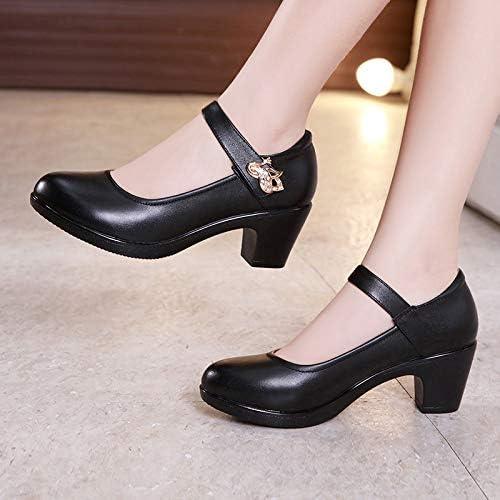 Confortables avec Un /épais avec des Chaussures /à t/ête Ronde Catwalk Cheongsam Single Chaussures Femmes,White,34 Damensandalen Chaussures pour Femmes