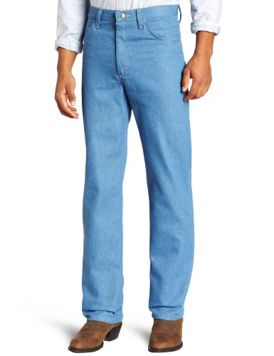 Wrangler Men's Rugged Wear Stretch Jean,Light Blue,34x32 (Shoes To Wear With Light Blue Jeans)