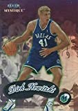 1999-00 Fleer Mystique Basketball #89 Dirk Nowitzki Dallas Mavericks Official NBA Trading Card From The Skybox Company