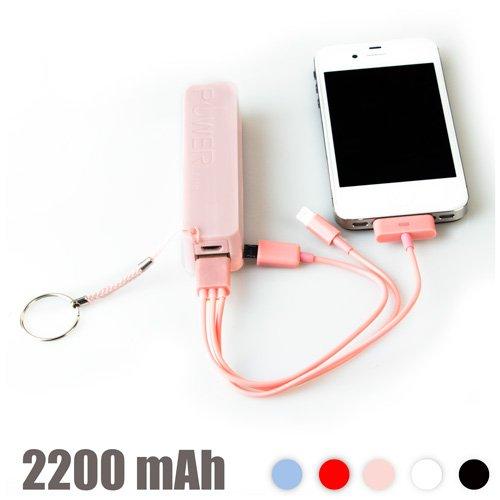 Bigbuy Power Bank Con Llavero 2200 Mah 90 gr: Amazon.es: Hogar