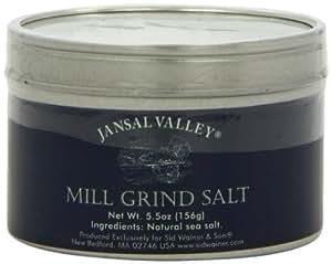 Jansal Valley Sea Salt, Mill Grind, 5.5 Ounce